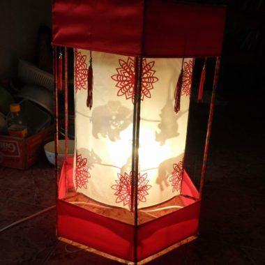 Đèn kéo quân cao 52 cm