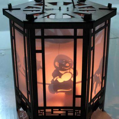 Lồng đèn kéo quân cao 24cm